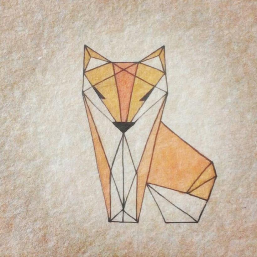 Geometric Fox 0