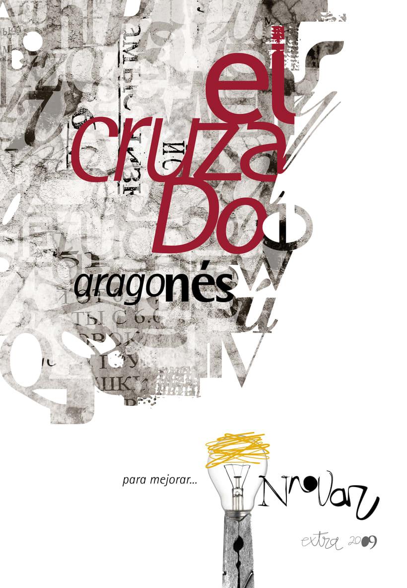 """Portada """"El Cruzado Aragonés"""" 2009 -1"""