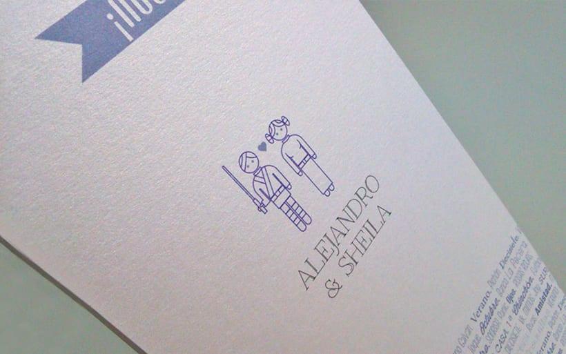 Invitación de boda 0