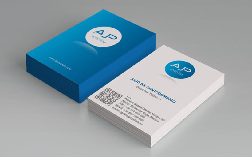 Diseño de logotipo, tarjetas de visita y manual básico 0