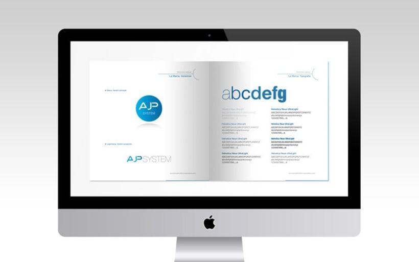 Diseño de logotipo, tarjetas de visita y manual básico 3