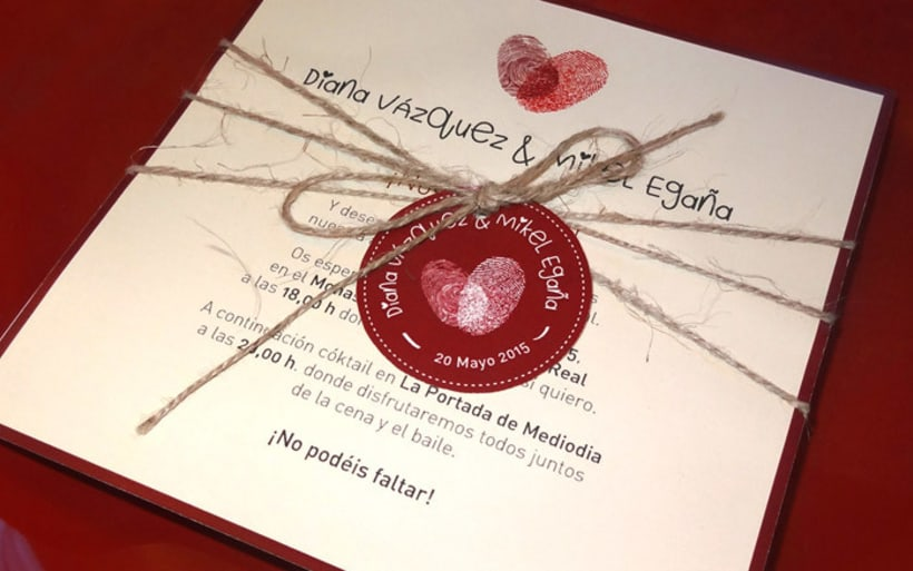 Invitación de boda Diana y Mikel -1