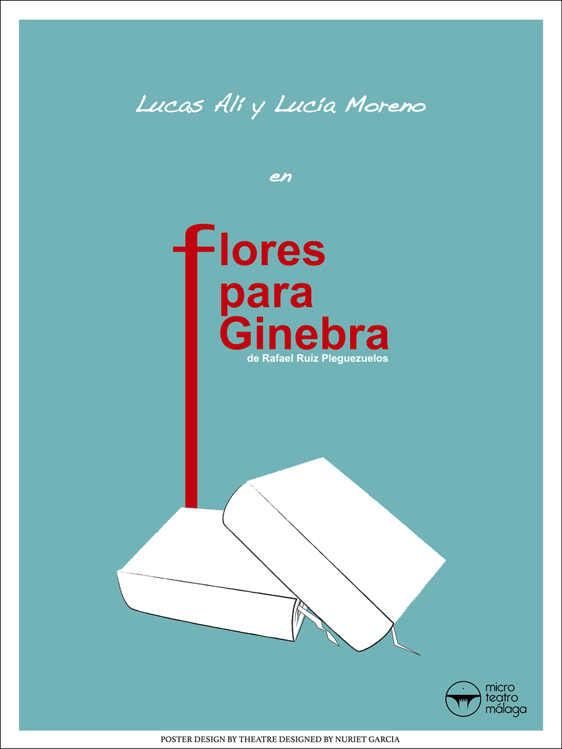 Cartel para la obra de Flores para Ginebra. -1