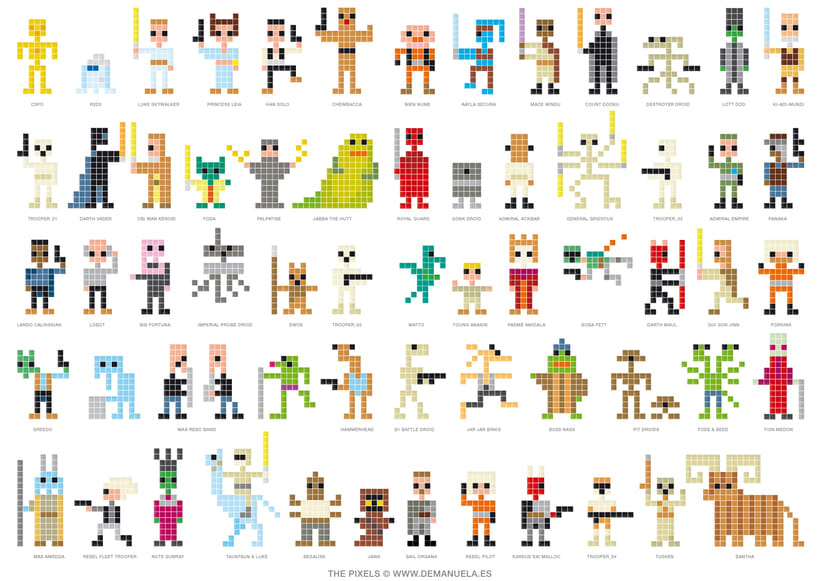 Star Wars Pixels 1