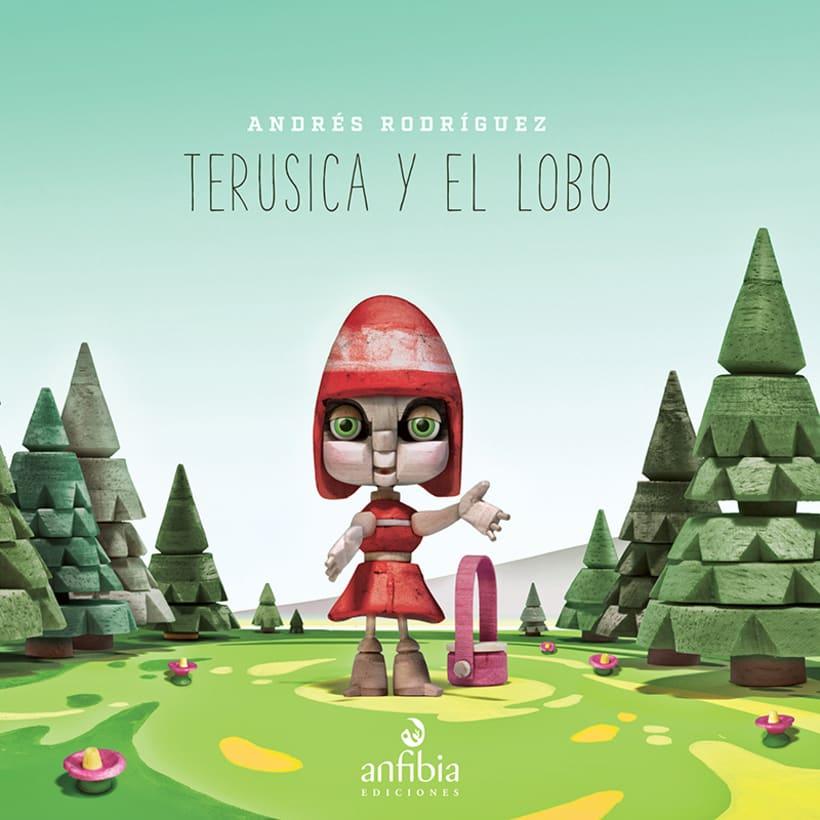 Terusica y el lobo - Andrés Rodríguez 0