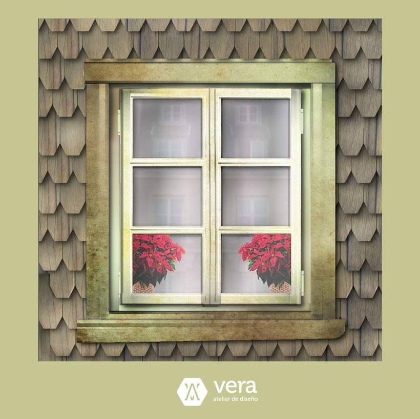 Ilustraciones realizadas inspiradas en ventanas para Vera Atelier 1