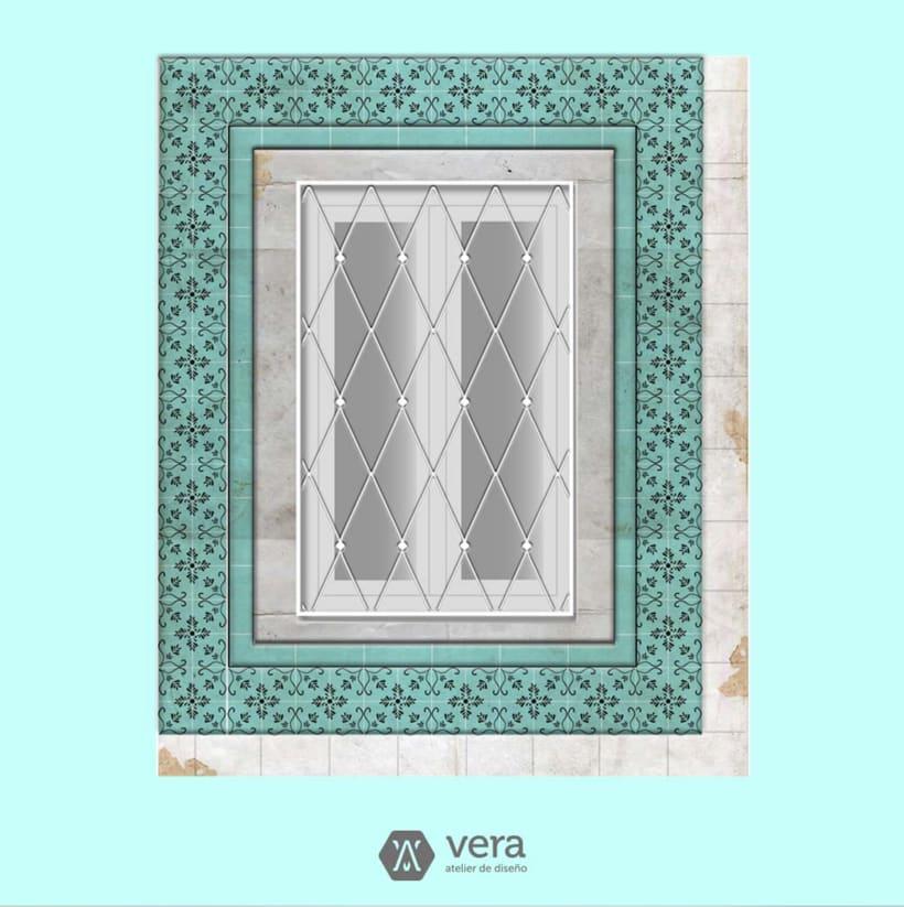 Ilustraciones realizadas inspiradas en ventanas para Vera Atelier 2
