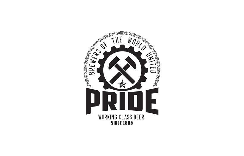 Logotipo, etiquedado y packaging de Cerveza Pride 1