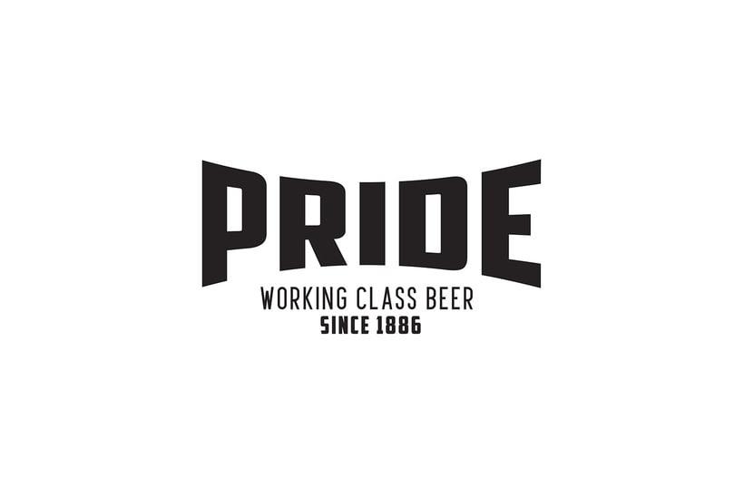 Logotipo, etiquedado y packaging de Cerveza Pride 4