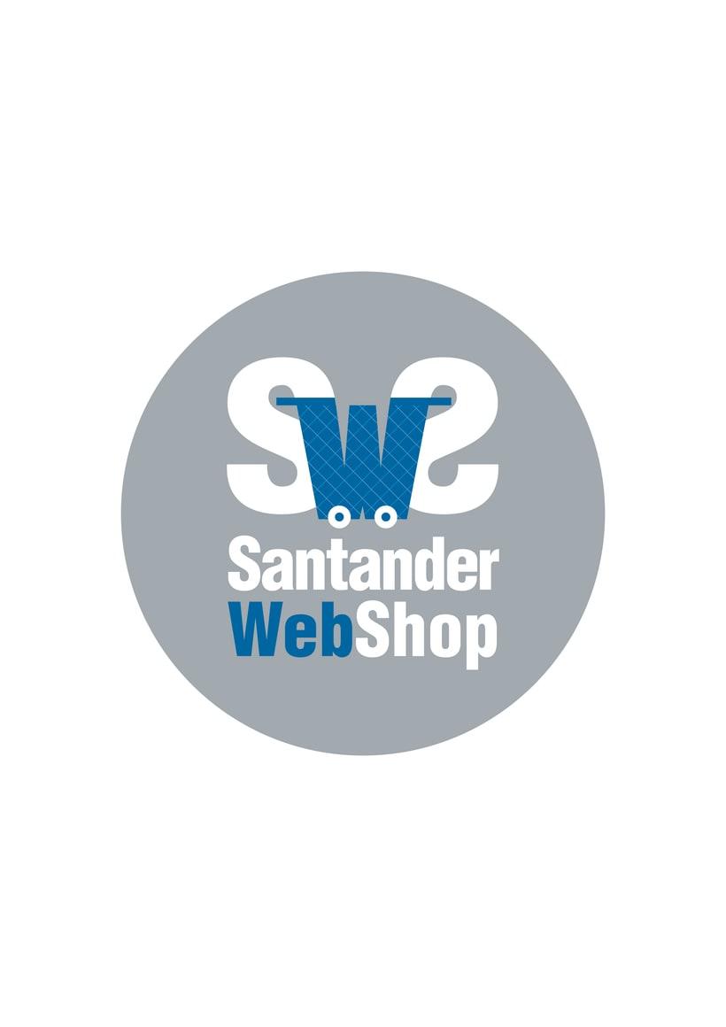 Logotipo de Santander Web Shop 0