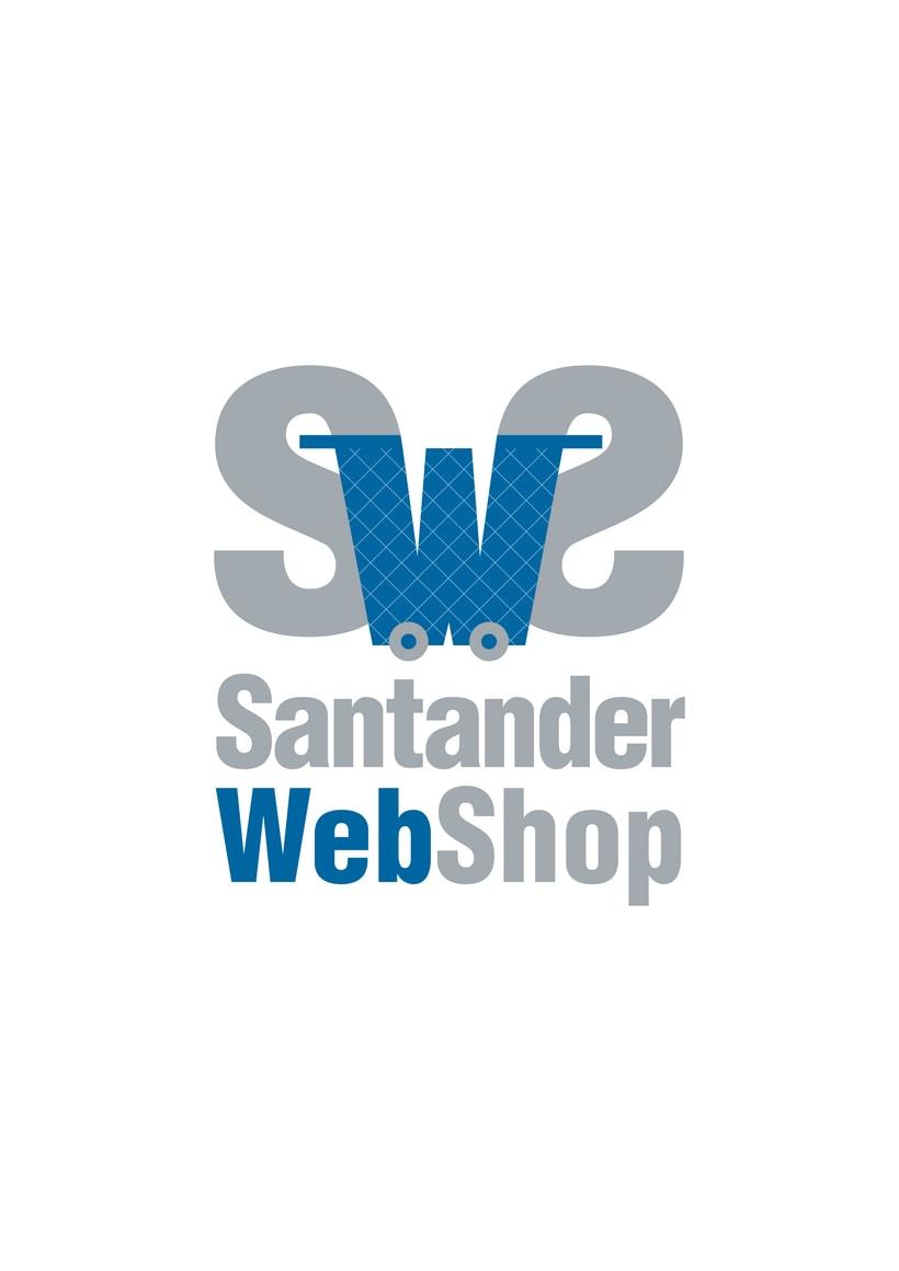 Logotipo de Santander Web Shop 2