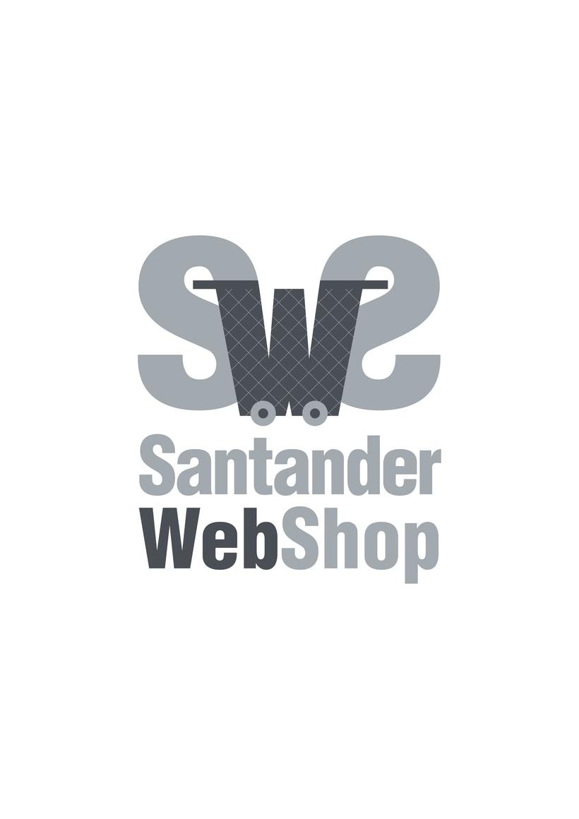 Logotipo de Santander Web Shop 3