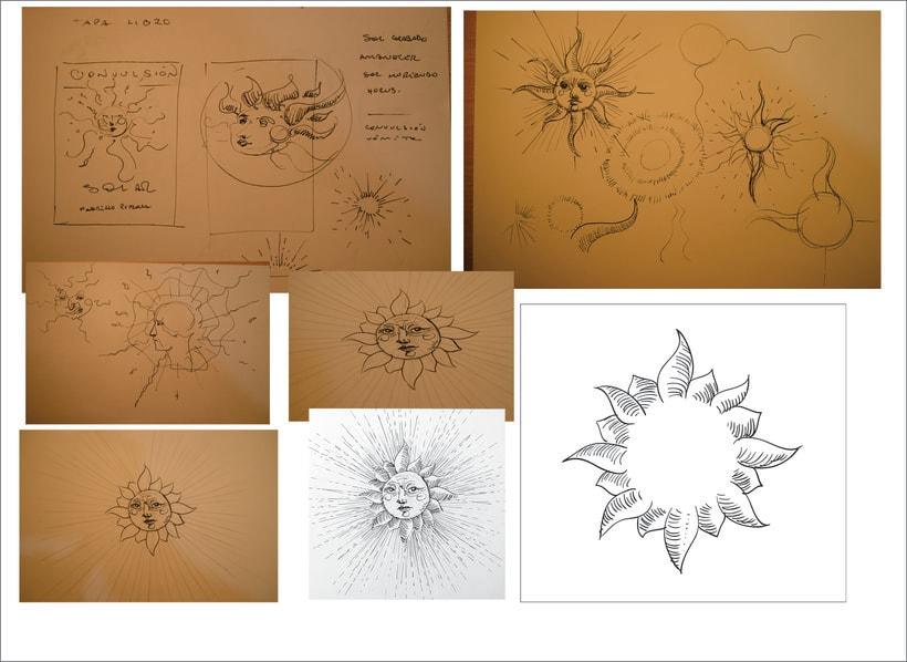"""Mi Proyecto del curso: Cartelismo ilustrado """"Tapa de libro"""" 1"""