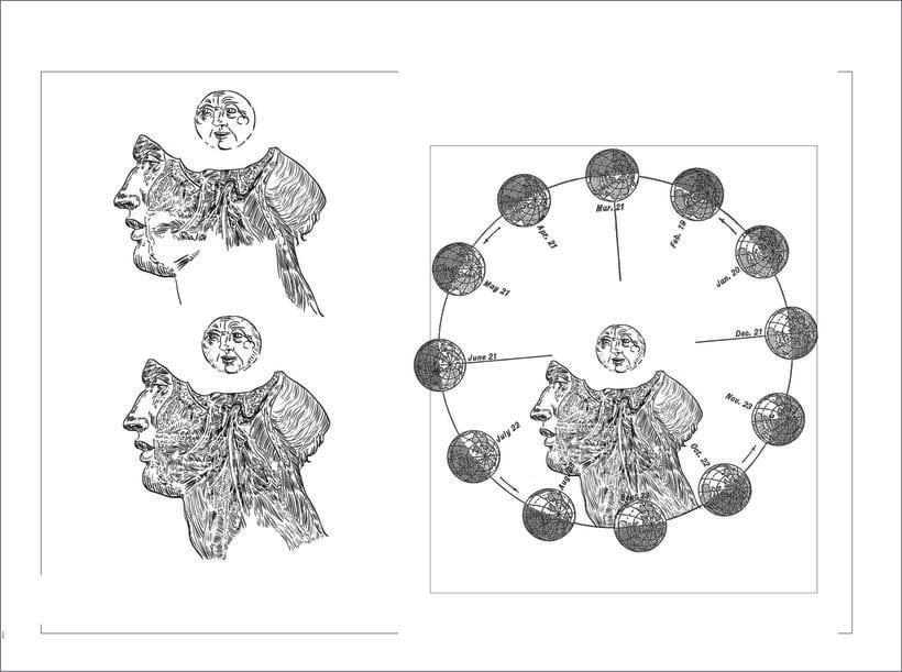 """Mi Proyecto del curso: Cartelismo ilustrado """"Tapa de libro"""" 2"""