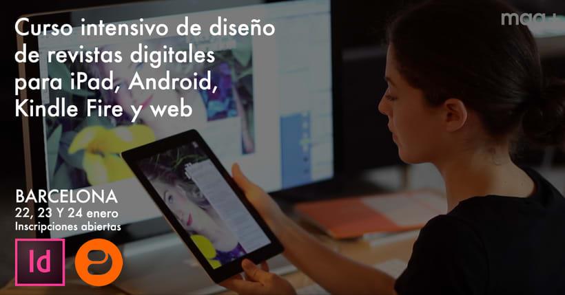 Curso presencial/intensivo de diseño de publicaciones digitales en Barcelona 1