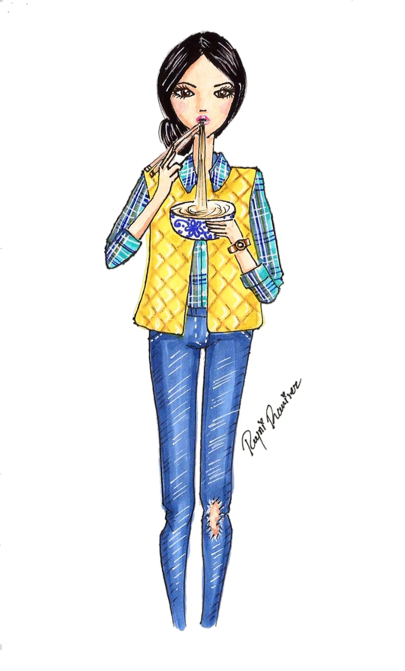 Ilustración de modas 1