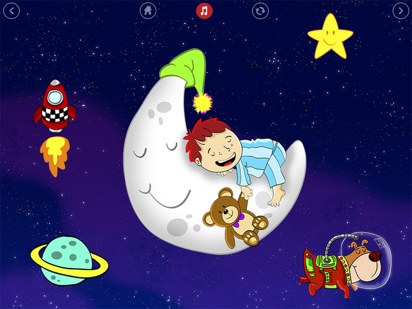 Bedtime is fun! iOS & Android App 1