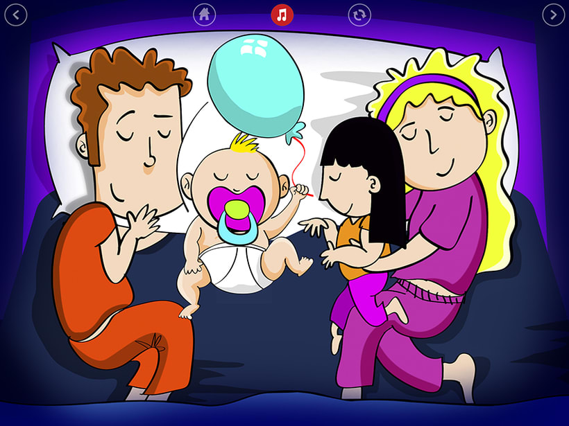 Bedtime is fun! iOS & Android App 4