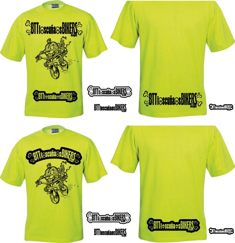 Los  Cuñaos  ( Logo Bikers BTT ) 2