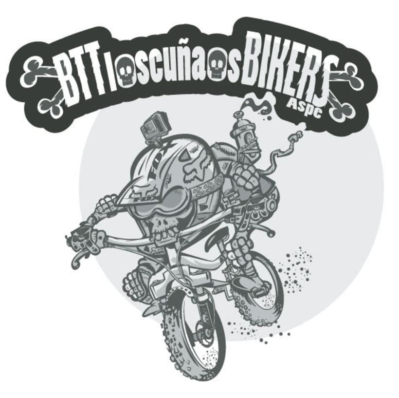 Los  Cuñaos  ( Logo Bikers BTT ) 3