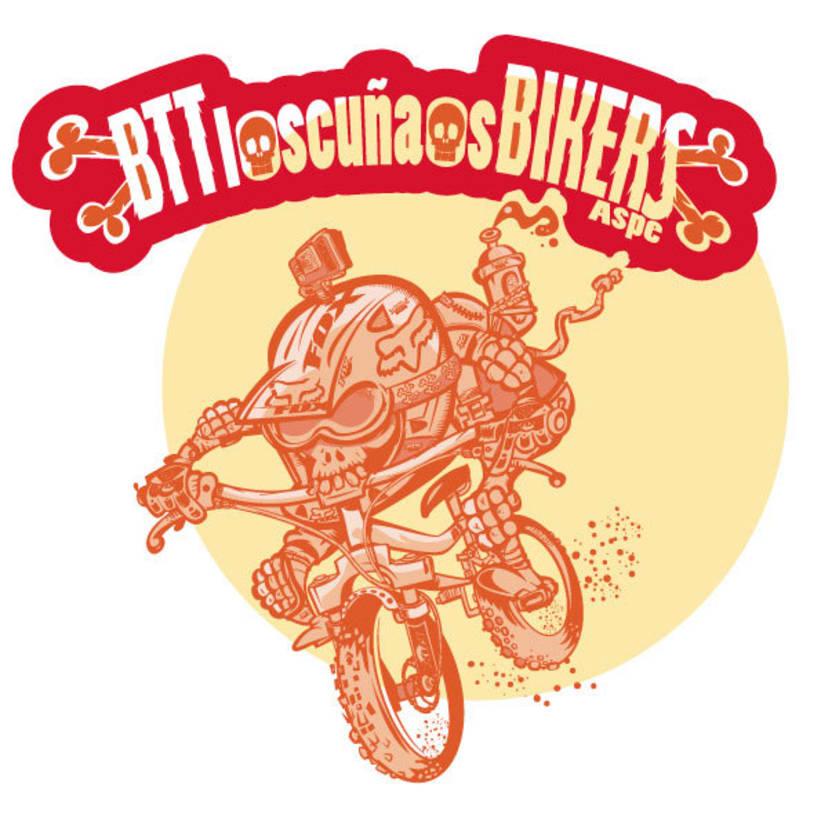 Los  Cuñaos  ( Logo Bikers BTT ) 4