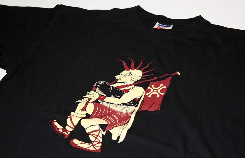 Diseño de movito para camiseta (serigrafía) -1