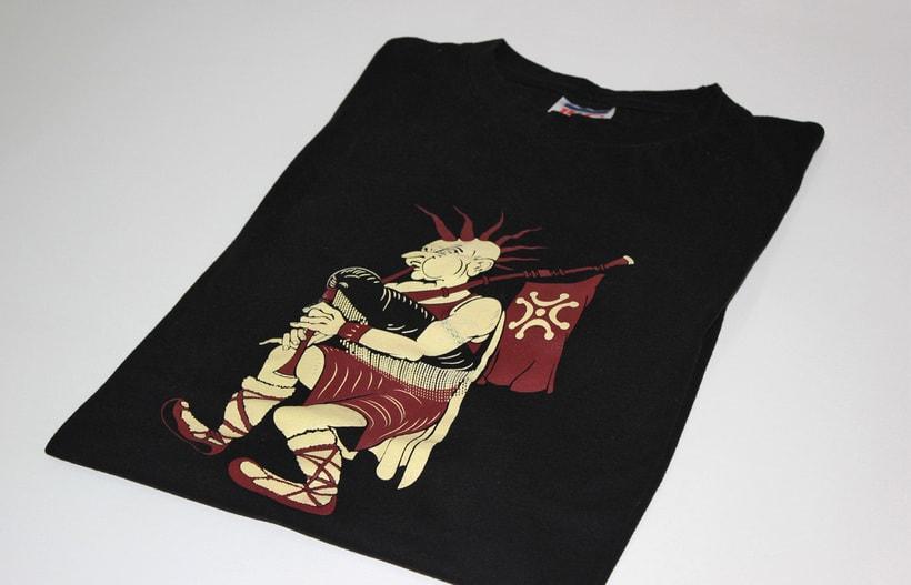 Diseño de movito para camiseta (serigrafía) 1