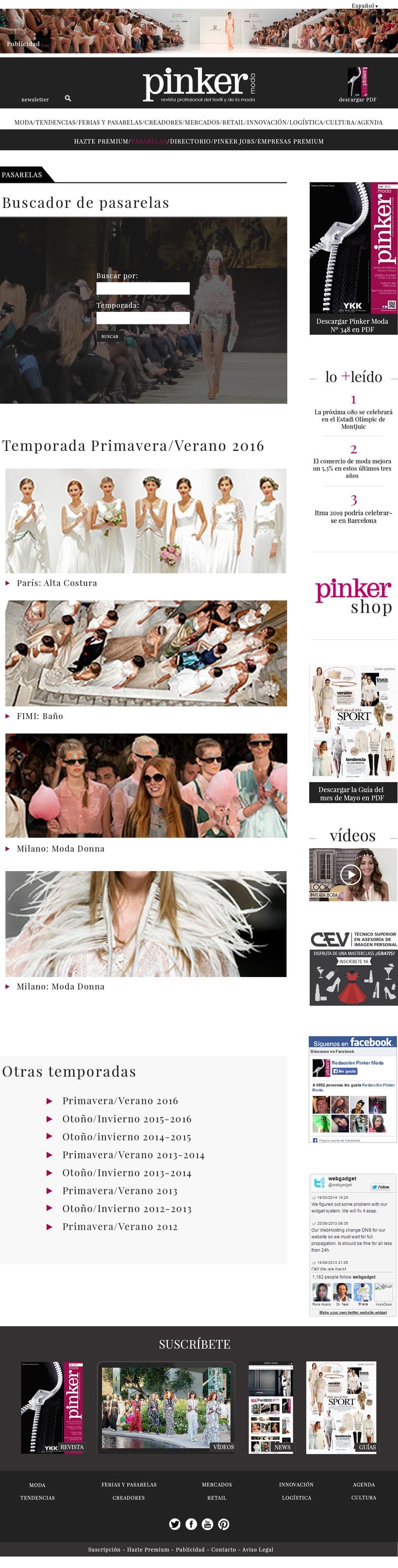 WEB LAYOUT - Pinker moda 3