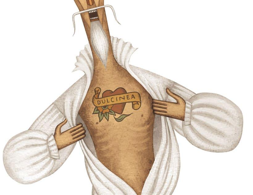 Ilustraciones para «El Quijote» 1
