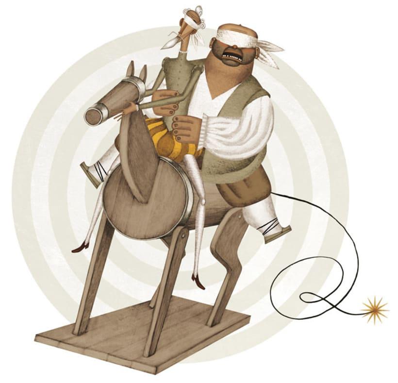Ilustraciones para «El Quijote» 3