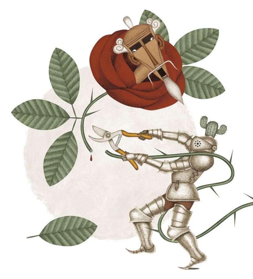 Ilustraciones para «El Quijote» 14