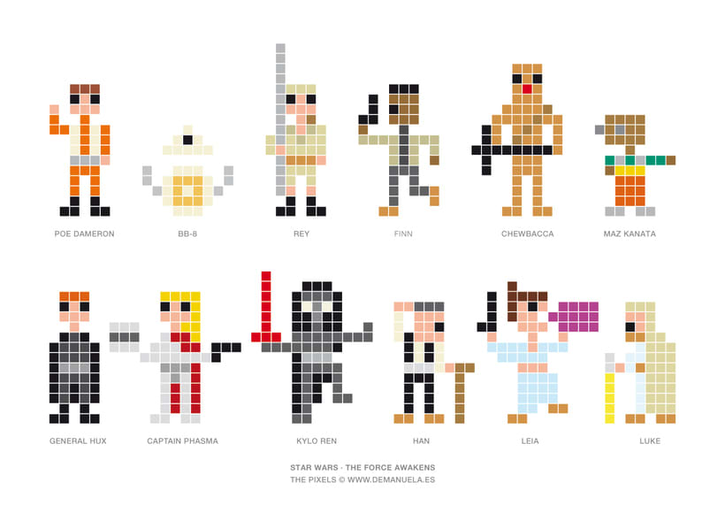 Star Wars Pixels Icons 0