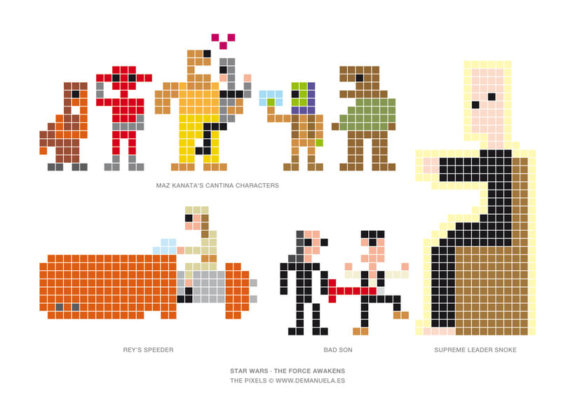 Star Wars Pixels Icons 2
