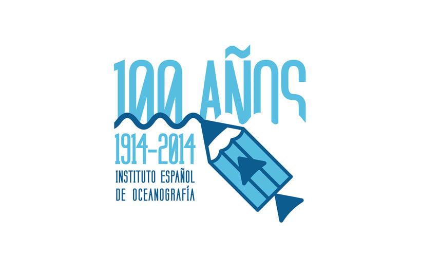 Propuesta Concurso Logotipo: Centenario del Instituto Español de Oceanografía -1