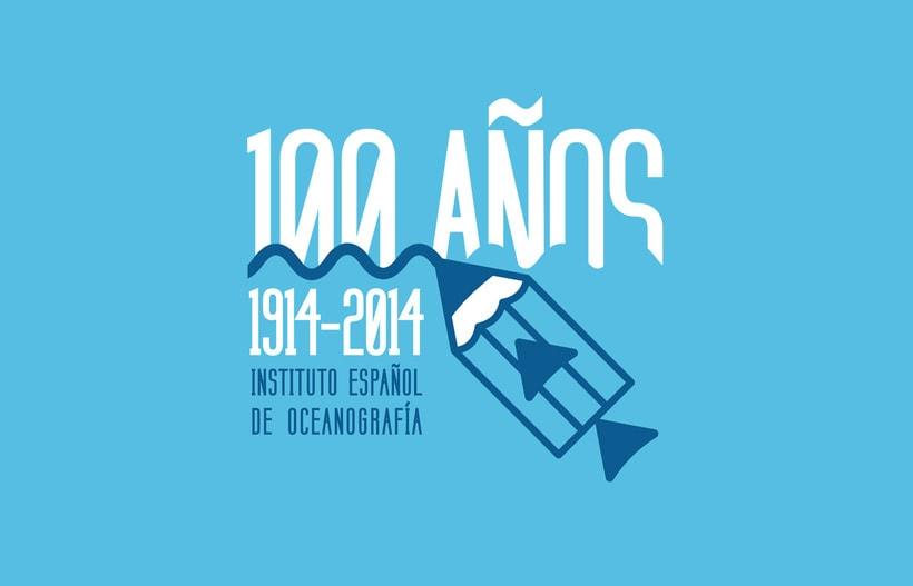 Propuesta Concurso Logotipo: Centenario del Instituto Español de Oceanografía 0
