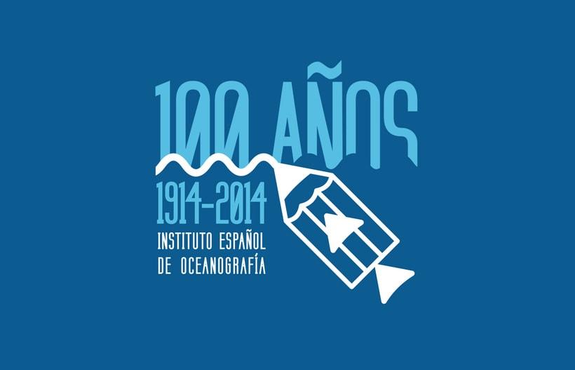 Propuesta Concurso Logotipo: Centenario del Instituto Español de Oceanografía 1