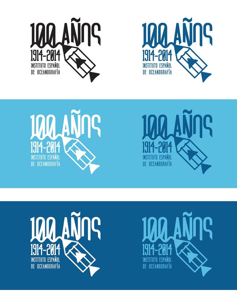 Propuesta Concurso Logotipo: Centenario del Instituto Español de Oceanografía 3