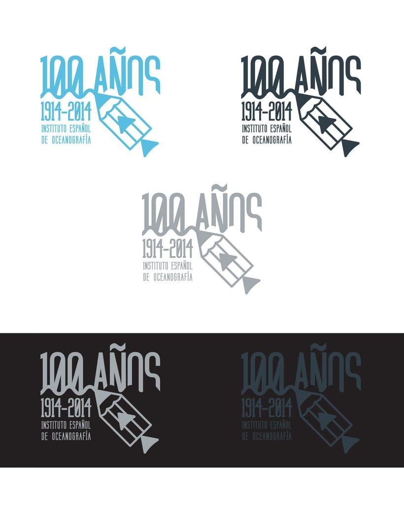 Propuesta Concurso Logotipo: Centenario del Instituto Español de Oceanografía 4