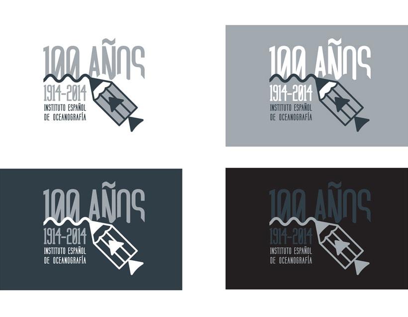 Propuesta Concurso Logotipo: Centenario del Instituto Español de Oceanografía 5