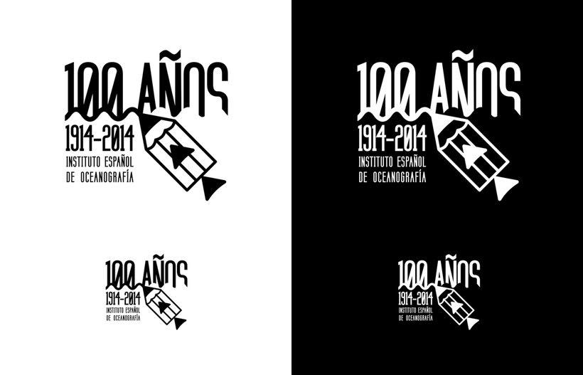 Propuesta Concurso Logotipo: Centenario del Instituto Español de Oceanografía 6