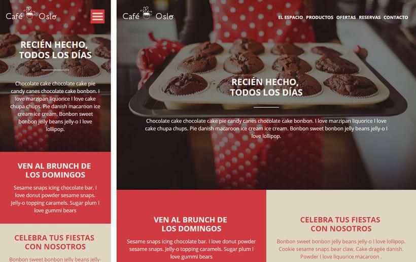 Mi Proyecto Web Responsive Café Oslo 0