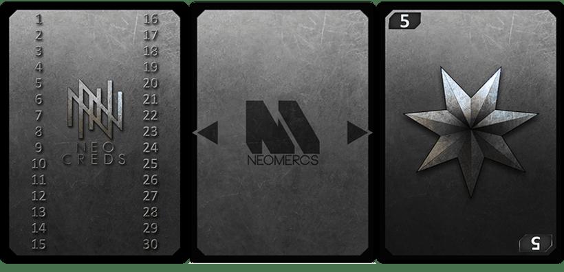 Neomercs - Juego de Cartas 8