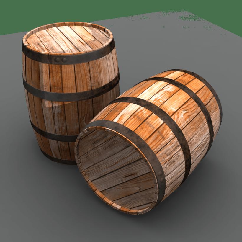 Barriles barrels domestika for Barriles de madera bar