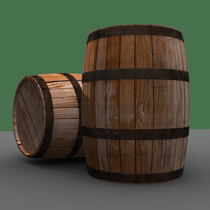 Industrial Craft Barrel