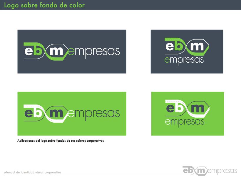 Manual de identidad visual En Bici por Madrid Empresas 9