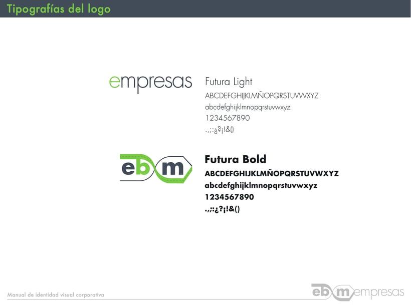 Manual de identidad visual En Bici por Madrid Empresas 8