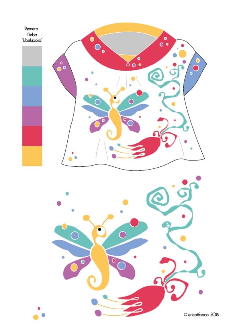 Dise o de estampas ropa de beb primavera verano for Diseno de ropa