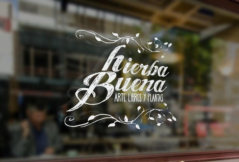 Diseño y aplicación de marca, Hierba Buena 3