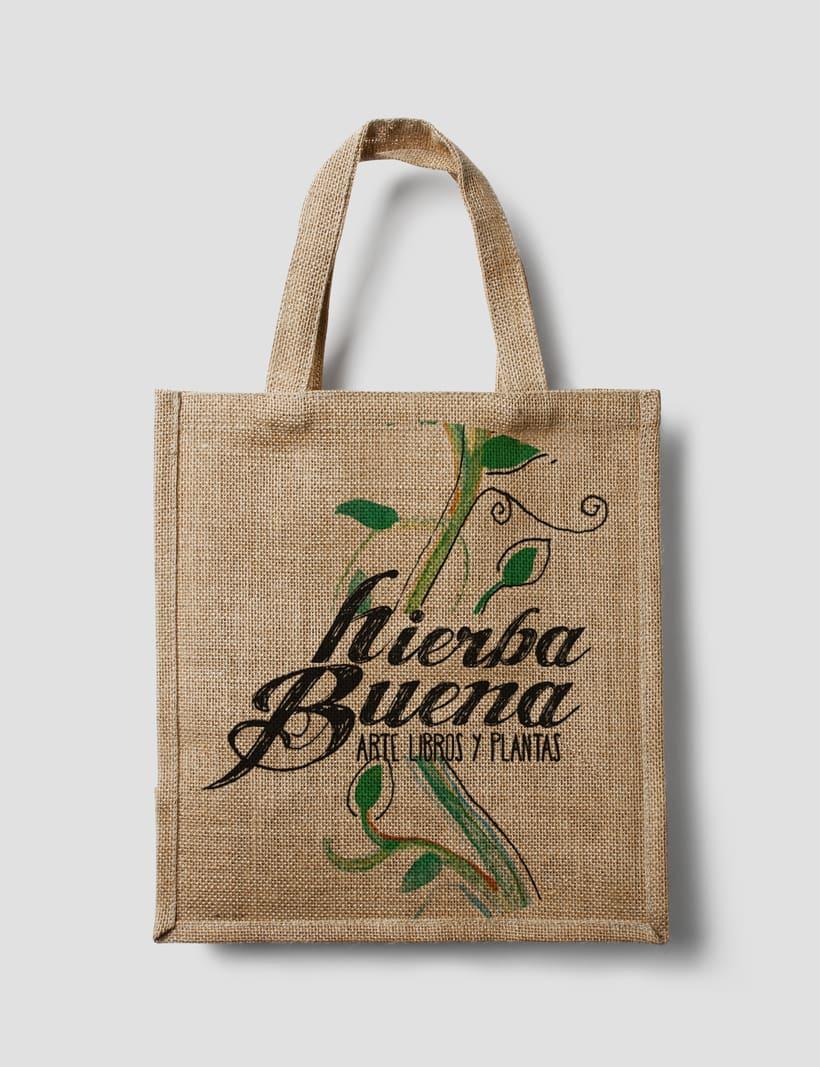 Diseño y aplicación de marca, Hierba Buena 5