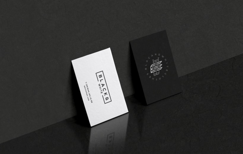 B&W Clothes Branding 9